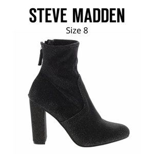 Steve Madden Sparkled Heeled Booties